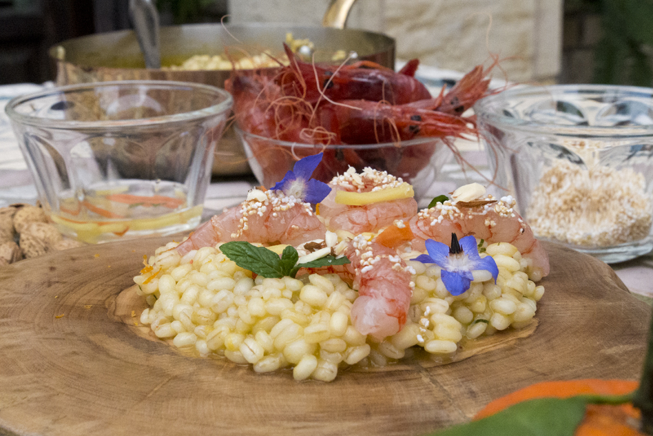 Pearl barley: Otranto and Gallipoli united together in flavours