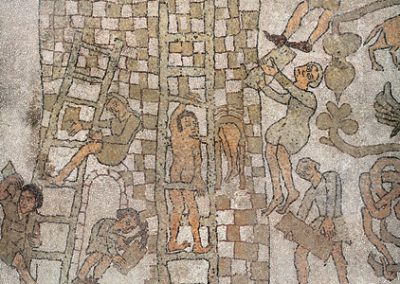 The Tower of Babel: Otranto mosaic