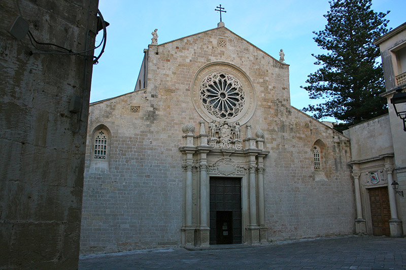 Discover the crypt of the Cathedral of Otranto