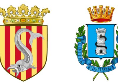 The coat of arms of Otranto and Terra d'Otranto