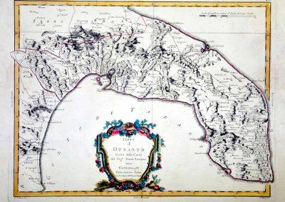Terra d'Otranto: the map