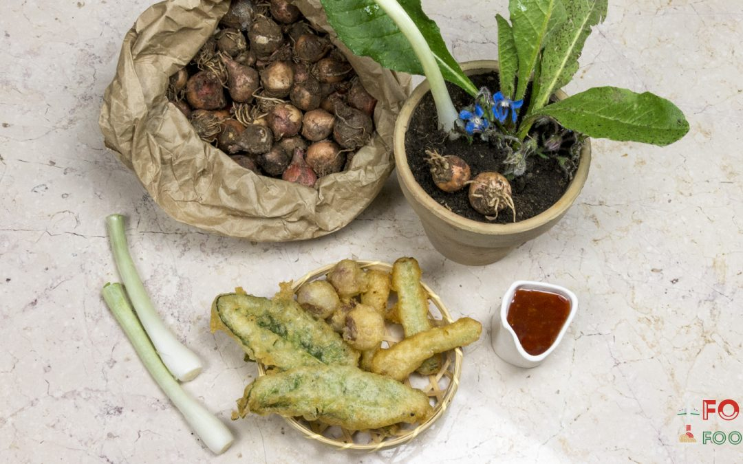Nature in tempura: Ivan Tronci cooked Otranto's vegetables