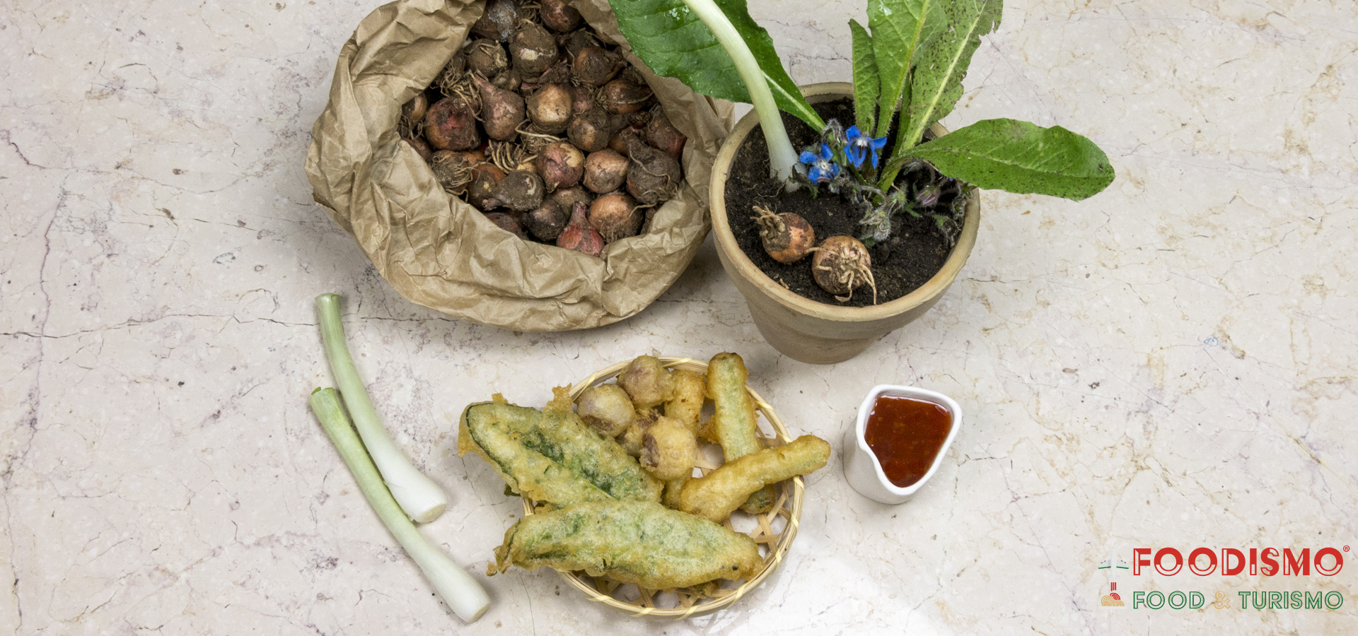 Nature in tempura: salento vegetables cooked by Ivan Tronci