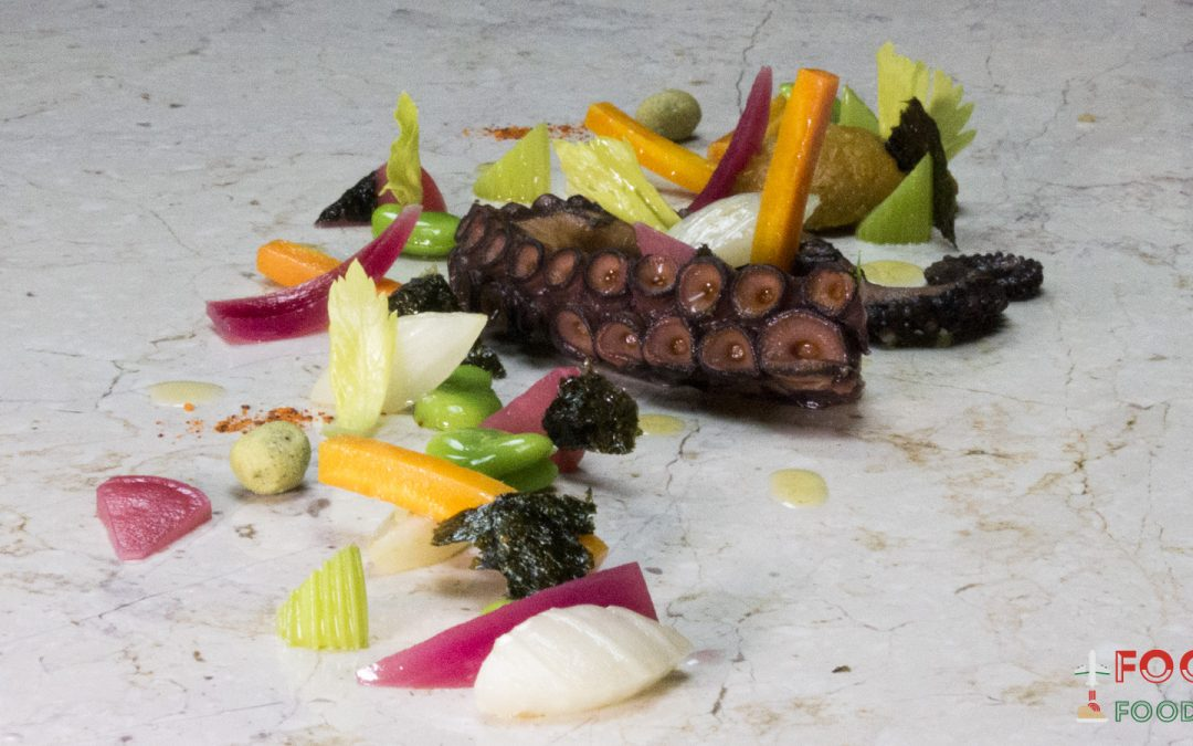 Salento octopus in spring: made by chef Ivan Tronci