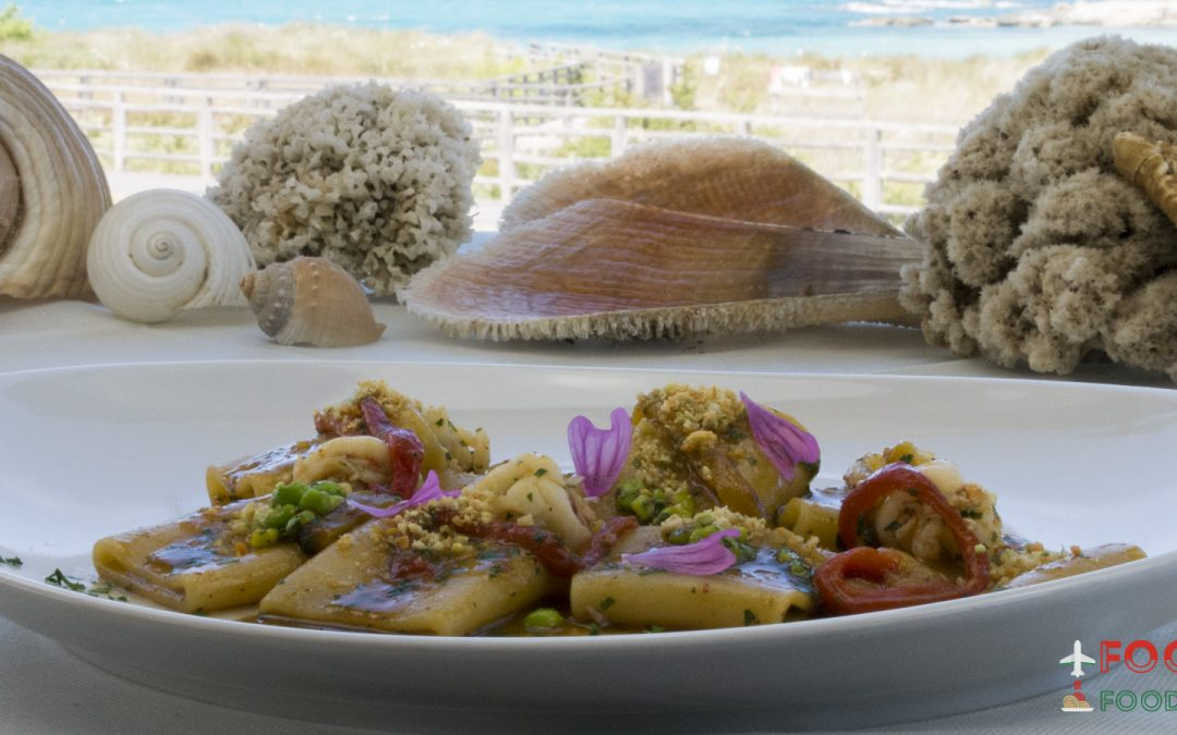 The scent of the Salento sea: made by chef Ivan Tronci