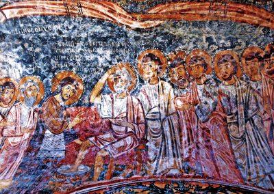 Gesù e la lavanda dei piedi a San Pietro