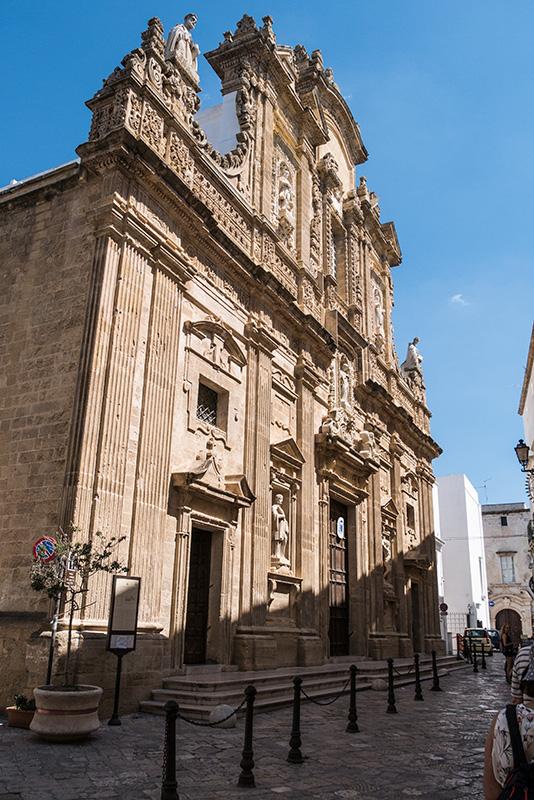 Gallipoli La Cattedrale Di S Agata Vergine E Martire Catanese Foodismo