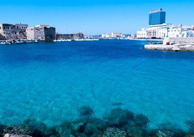 Gallipoli e il porto dei pescatori