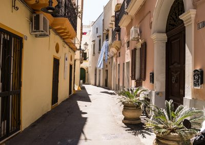 Gallipoli via del centro storico