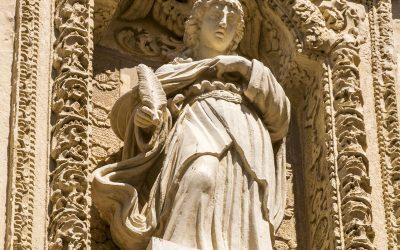 Gallipoli: la cattedrale di S. Agata vergine e martire catanese