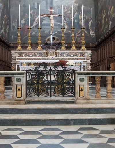 Dettagli dell'altare Maggiore