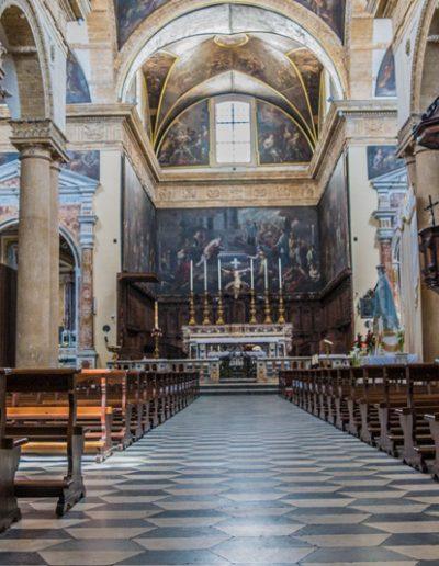 Altare maggiore S. Agata Gallipoli