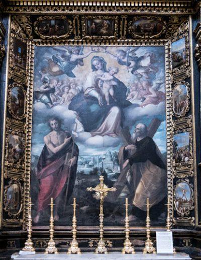 Vergine col Bambino e i SS Giovanni Battista e Andrea Apostolo