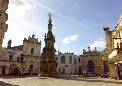 Città di Nardò e la splendida piazza Salandra
