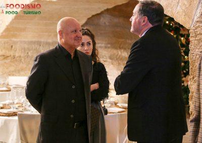 Michele Bruno e il Prof. Francesco Lenoci