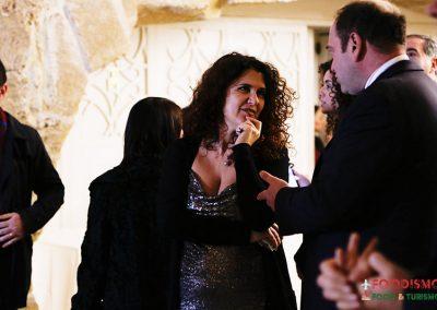 Daniela Pastore (Gazzetta del Mezzogiorno) e Gaetano Castellini