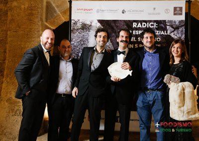 La premiazione di Studio Samo