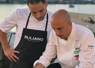ViaPunta7 Otranto: Ivan Tronci con Giacomo Troisi